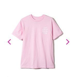 Anti Social Social Club - Logo Tee Pink - Medium